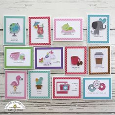 Odds & Ends Cards with Kathy