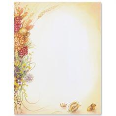 Autumn Bouquet Letter Paper | Idea Art