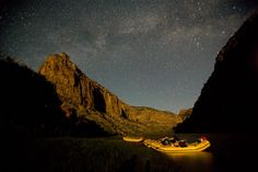 Starry sky | Yampa River whitewater rafting | O.A.R.S.