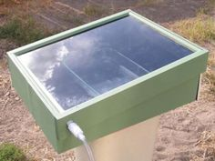 How To Build A Solar Powered Still To Purify Any Water Source