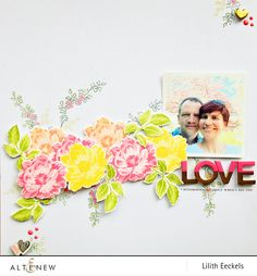 Love .. (Beautiful Day Stamp and Die set)
