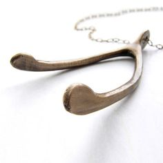 Big Wishbone Antique Brass, $25.50, now featured on Fab.