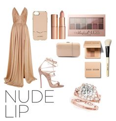 """Nude"" by otakugurl77 ❤ liked on Polyvore featuring beauty, The 2nd Skin Co., Rebecca Minkoff, Charlotte Tilbury, Dsquared2, Maybelline, Bobbi Brown Cosmetics and Verali"