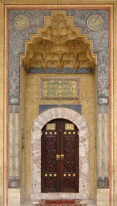 """The Front Door To """"Begova Dzamija"""" In Sarajevo"""