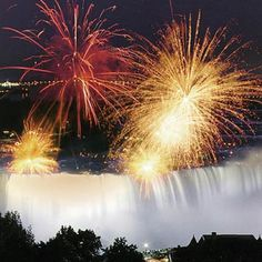 see the niagara falls fireworks up close. 10pm Sunday nights