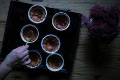 Lemoncakes with datesyrup and honey-mascarpone