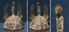 Helm aus Neuginea - Stammeskunst