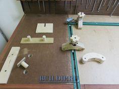 Acessórios para bancos de trabalho de carpintaria - grampos e cercas com as próprias mãos.