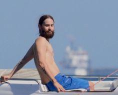 Jared leto-Capri, Italy