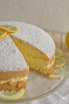 Torta alla crema di limone, una sofficissima bontà   Giorno dopo giorno by Katy