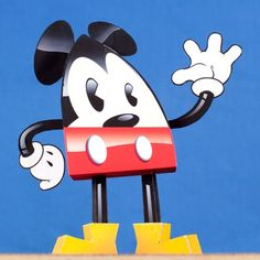 Mickey's in the spotlight again, this time in teardrop form.