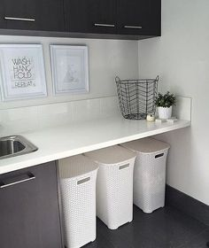@aldi_shoppingperth snapped up three of the laundry baskets in the recent sale. Just $15 from 30 July. Loving the look of this laundry!! Thanks for sharing ⭐️⭐️ #aldiaustralia #aldiloversau