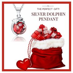 Buy this beautiful  silver dolphin pendant Now! Amazing 60% OFF for Cyber Sales Week! Now only $22.95