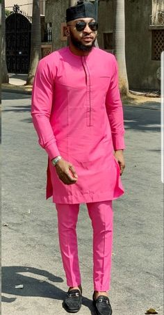 Call, SMS or WhatsApp if you want this style, needs a skilled tailor to hire or you want to expand more on your fashion business. African Shirts For Men, African Dresses Men, African Attire For Men, African Clothing For Men, Latest African Fashion Dresses, African Men Fashion, African Wear, Mens Fashion, African Outfits