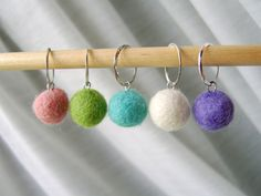 felted stitch markers