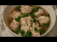 Chinese Wonton Soup:  Fast And Easy Recipe