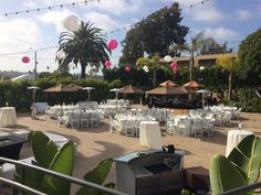 For a mid-sized wedding.  Perfect way to enjoy the Southern California Hospitality
