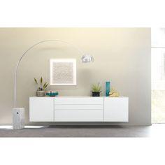 Sideboard Modern, Modern Colors, Floating Nightstand, Easy, Modern Design, Furniture Design, Pure Products, Cabinet, Interior Design