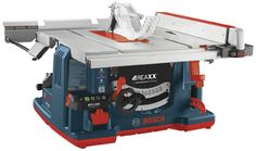 Bosch introduces their first flesh-detecting tablesaw--the Reaxx Jobsite Saw. Coming in Fall, 2015: http://bit.ly/1OdNAxu