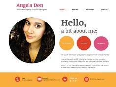 wix arena resume website