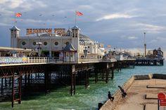 Brighton Pier by Day