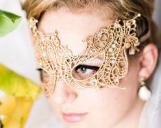 Lace mask | Etsy