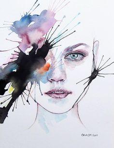 Kadına Şiddet ve Hüznü Resmeden Dal Maso'dan Düşündürecek İllüstrasyonlar Sanatlı Bi Blog 3