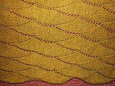 Ravelry: Rolling Waves Throw or Baby Blanket pattern by Belinda Ostrowski