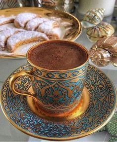Coffee Images, Coffee Humor, Funny Coffee, Turkish Coffee, Coffee Love, Coffee Recipes, Tea Time, Tea Cups, Tableware