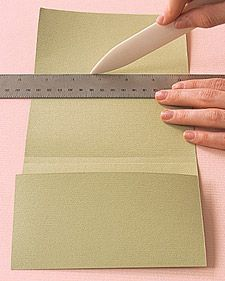 Envelope Books: Paper Binding How-To | Step-by-Step | DIY Craft How To's and Instructions| Martha Stewart