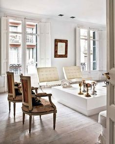 Dream Apartment in the City Dining Area, Dining Bench, 80s Interior Design, Office Chair Without Wheels, Mid-century Modern, Contemporary, Bar Chairs, High Chairs, Dream Apartment
