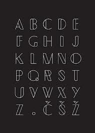 Картинки по запросу in a shape fonts