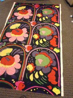 "Vintage Marimekko by Suomi Fabric 1973 Finland Katsuji Wakisaka ""Karuselli""   eBay"