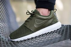 """Nike Roshe Run """"Leather and Flyknit""""  #shoes #sneakers #nike #roshe #nikerosherun #nikerosheone #flyknit #premium"""
