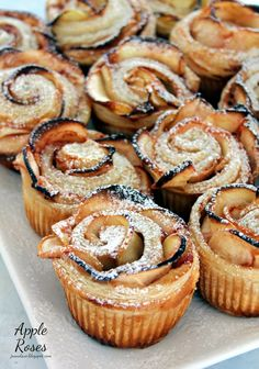 Apple Roses (using puff pastry)