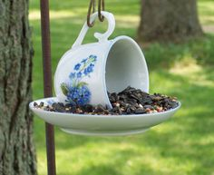 Get Crafty by Repurposing Tea Cups