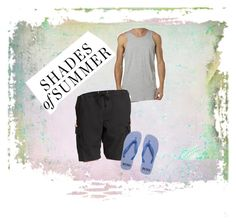 Shades of Summer!!! by deveeka on Polyvore featuring polyvore Stussy Old Navy BOSS Orange men's fashion menswear clothing
