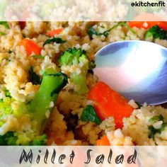 Millet Salad  #healthy #amazing #delicious #projetokitchenfit #gym #lunch #friends #moment #pornfood  #madewithstudio