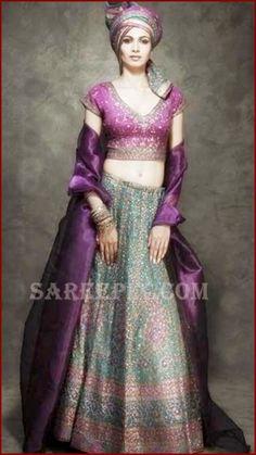 Priya Reddy in Ritu Kumar http://www.ritukumar.com/ Wedding Lehenga Ensemble
