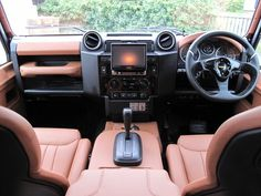 Land Rover Defender Defender 90 XS Automatic Station Wagon with Twisted Upgrades Custom Range Rover, Land Rover Defender Interior, Best 4x4, Custom Car Interior, Range Rover Classic, Engine Swap, Defender 90, Land Rovers, Station Wagon