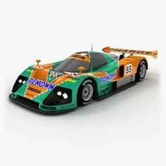 This car with unusual design is #Mazda 787B. It was built by Mazda to participate in the World Sportscar Championship, All Japan Sports Prototype Championship and the 24 Hours of Le Mans from 1990 to 1991. You know that this car is really popular in different computer games like Gran Turismo, Forza Motorsport, Race Driver: GRID, etc.? You're developing a racing game and still do not have Mazda 787B in it? Really?? Hurry up and get it here, #lowpoly #3Dmodel is by link. #opticaldreamsoft