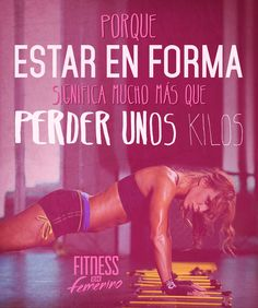 Porque estar en forma significa mucho más que perder unos kilos. Fitness en Femenino