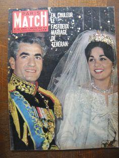 Reine Farha Diba et Mohammad Reza Pahlavi