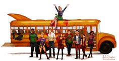 All Grown Up: The Magic School Bus by IsaiahStephens.deviantart.com on @deviantART