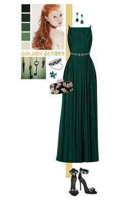 """[266]"" by yuuurei ❤ liked on Polyvore featuring Elie Saab, Lanvin, Giuseppe Zanotti, Oscar de la Renta, Stephen Webster, Jennifer Meyer Jewelry, Roberto Coin and GoldenGlobes"
