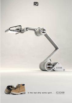 COG work lamp on Behance