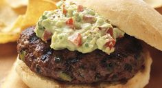 BBQ GRILLING #BBQ #Grilling California Burgers with Guacamole Mayonnaise