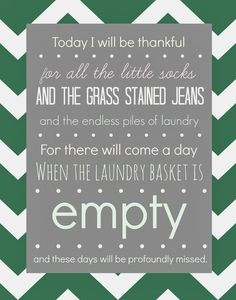 FREE Laundry Room Printable {that might make your eyes well up with tears} - Designer Trapped in a Lawyer's Body.