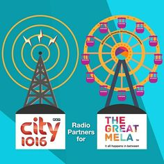 A big shout-out to  #UAE 's No.1 #Bollywood #Radio Station, City 1016 our radio partners at The Great Mela!  Come celebrate life with us this November! #lifeisamela
