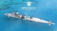 MIGALOO PRIVATE SUBMERSIBLE YACHTS - YouTube